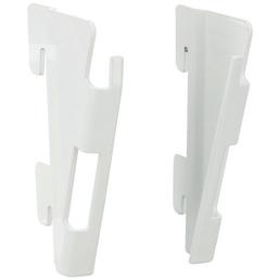 ELEMENT SYSTEM Adapter, Metall, weiß, 4 Stück