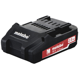 METABO Akku, Li-Power Pick + Mix, 2 Ah, 18 V, Lithium-Ionen, Schwarz
