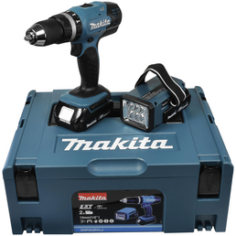 MAKITA Akku-Schlagbohrschrauber »DHP453RYLJ« 18 V inklusive Akku