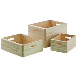 KESPER Allzweckkiste » 27,6 l mit Deckel«, BxHxL: 30 x 23 x 40 cm, Holz