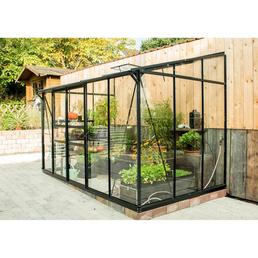 VITAVIA Anlehngewächshaus »Osiris 6500«, 6,5 m², Kunststoff/Aluminium/ESG Glas, winterfest