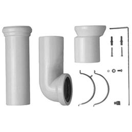 DURAVIT Anschluss-Set »Vario«, Kunststoff, 110_ mm, weiß