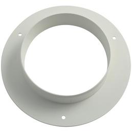 MARLEY Anschlussstutzen, rund, Polyvinylchlorid (PVC), weiß