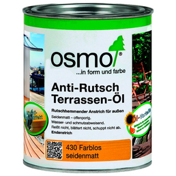 OSMO Anti-Rutsch-Terrassenöl transparent 0,75 l