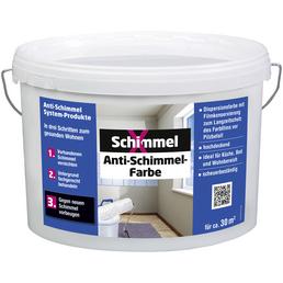 SCHIMMELX Anti-Schimmelfarbe, weiß, 5 l, 30 m²