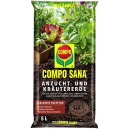 Anzucht- und Kräutererde »COMPO SANA® «, für Setzlinge, Sämereien, Kräuter