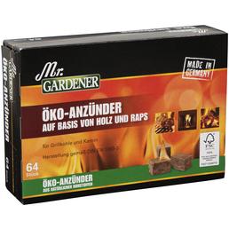 MR. GARDENER Anzünder Mr.GARDENER Ökoholzfaseranzünder