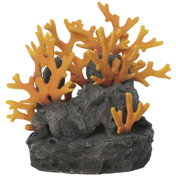 OASE Aquariendeko, biOrb Lavagestein mit Feuerkoralle Ornament