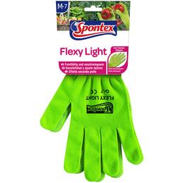 SPONTEX Arbeitshandschuhe »Flexy Light«, pink/gruen/lila