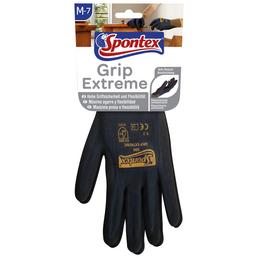 SPONTEX Arbeitshandschuhe »Grip extrem«, schwarz/rot