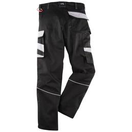 BULLSTAR Arbeitshose EVO Polyester/Baumwolle schwarz/grau Gr. 56