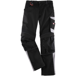 aa8d19b5312e Arbeitshose EVO Polyester/Baumwolle schwarz/grau Gr. 56