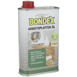 BONDEX Arbeitsplattenöl, transparent, matt, 0,5 l