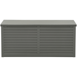 GARDEN IMPRESSIONS Aufbewahrung »Kissenboxen«, BxHxT: 61 x 64,4 x 146,4 cm, mittelgrau/dunkelgrau