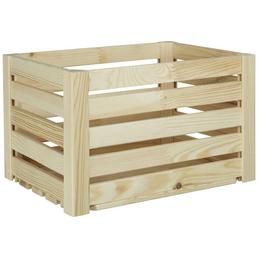 ZELLER Aufbewahrungsbox, B x  L x H: 30 x 40  x 24 cm, Kiefernholz