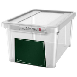 KREHER Aufbewahrungsbox, BxHxL: 18,5 x 14 x 27,5 cm, Kunststoff