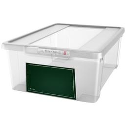 KREHER Aufbewahrungsbox, BxHxL: 27,5 x 14 x 38,5 cm, Kunststoff
