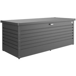 BIOHORT Aufbewahrungsbox »FreizeitBox«, BxHxT: 181 x 71 x 79 cm, dunkelgrau-metallic