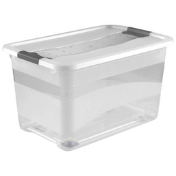 KEEEPER Aufbewahrungsbox »Konrad 52 L mit Rollen«, BxHxL: 39,5 x 35 x 59,5 cm, Kunststoff