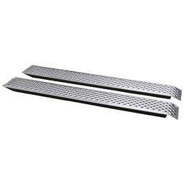 UNITEC Auffahrrampe, Länge: 150 cm, max. Tragkraft 400 kg, Aluminium