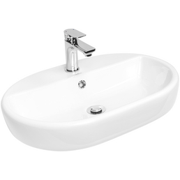 CORNAT Aufsatz-Waschbecken »Caspia Oval«, Breite: 60 cm