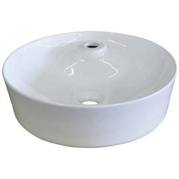 SANICOMFORT Aufsatz-Waschbecken »SMART«, Breite: 43 cm, rund