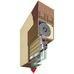 RORO Aufsatzrollladen »Aufsatzrollladen«, geeignet für Fenster BxH: 100 x100 cm, weiß