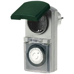 REV Außen-Zeitschaltuhr, Grün | Grau, 230 V