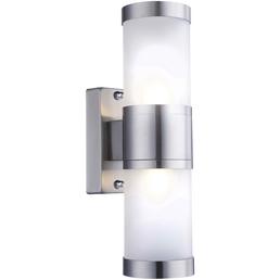 GLOBO LIGHTING Außenleuchte »HOUSTON«, 33 W, Edelstahl, IP44