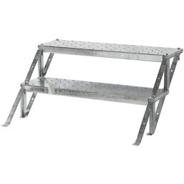 MINKA Außentreppenstufe »Sun Step«, Gitterroststufe, Stufentiefe: 24 cm, Stahl