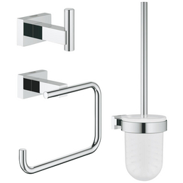 GROHE Bad-Accessoire-Set »Essentials Cube«, chromfarben