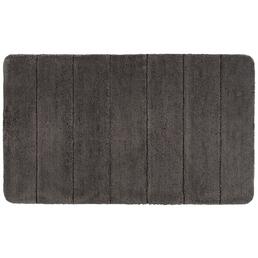 WENKO Badematte »Steps«, Mouse Grey, 70 x 120 cm
