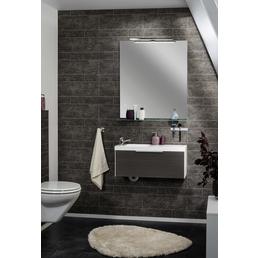 FACKELMANN Badspiegel, B x T x H: 80  x 1,5  x 90  cm