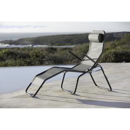 CASAYA Bäderliege »Balanta«, Stahl/Textilen, Kippfunktion
