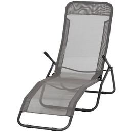 GARDAMO Bäderliege, Stahl/Textilen, Klappfunktion/Kippschutz