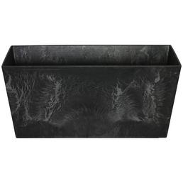ARTSTONE Balkonkasten »Ella«, BxHxT: 37 x 17 x 17 cm, schwarz