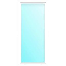 Meeth Balkontür »76/3 DK«, Klarglas, Kunststoff (PVC), weiß