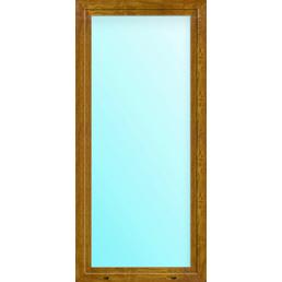 Meeth Balkontür »77/3 MD«, 1-flg., Klarglas, Kunststoff (PVC), weiß/golden oak
