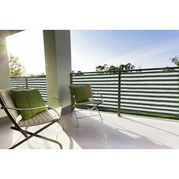 PEDDY SHIELD Balkonumrandung, HDPE, HxL: 90 x 500 cm