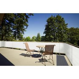 PEDDY SHIELD Balkonumrandung, HDPE, LxH: 500 x 90 cm