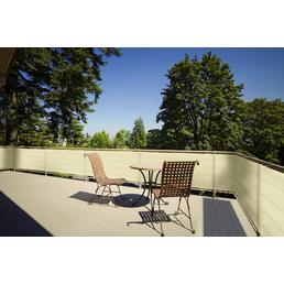 FLORACORD Balkonumrandung »Sonnenschirme/Sonnensegel und Zubehör«, aus HDPE, L x H: 500 x 90 cm