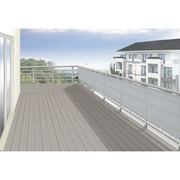 FLORACORD Balkonverkleidung, Polyester, HxL: 75 x 300 cm