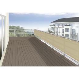 FLORACORD Balkonverkleidung, Polyester, HxL: 90 x 300 cm