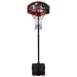 BEST SPORTING Basketballständer Kunststoff, höhenverstellbar 165 - 205 cm
