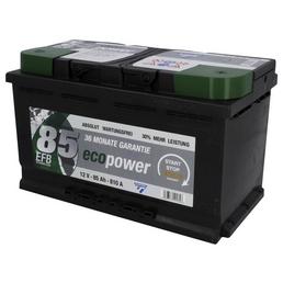 CARTEC Batterie »Eco Power 85 EFB«, Eco Power 85 EFB