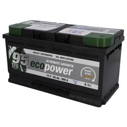 CARTEC Batterie »Eco Power 95 EFB«, Eco Power 95 EFB