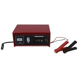 Absaar Batterieladegerät, Metall, rot