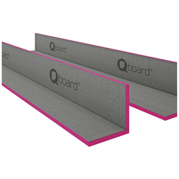 Bauplatte, BxHxL: 150 x 150 x 1200 mm, Polystyrol (EPS)/Zement/Glasfaser/Kunststoff, grau/rosa