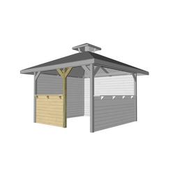 WEKA Bausatz für Gartenhäuser, Holz