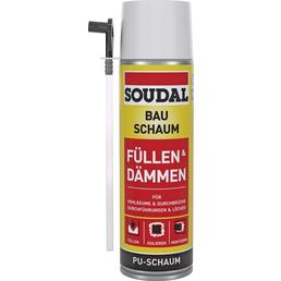 SOUDAL Bauschaum, Füllen & Dämmen, 0,5 l